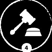 Todos nuestros casos se ratifican en el juzgado o en el organismo que sea necesario